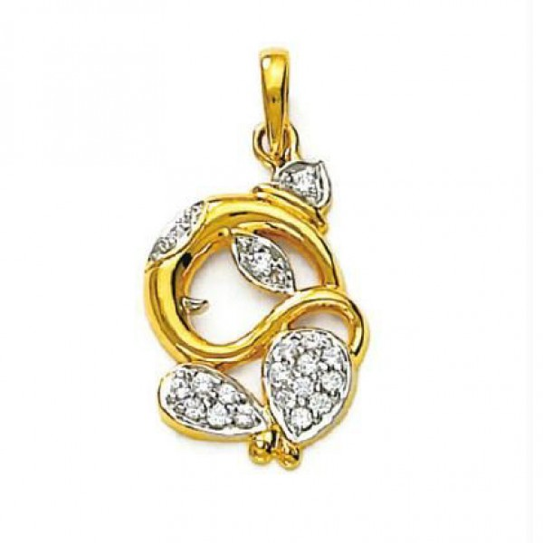 Lord Ganesh Diamond Pendant