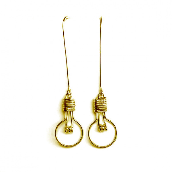 Lightbulb Earrings