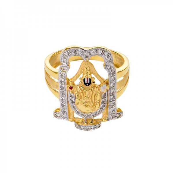 Lord Balaji Diamond Ring