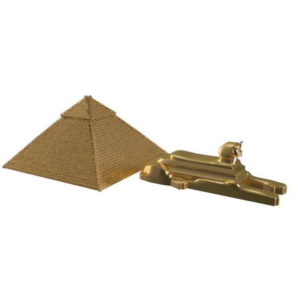Pyramid And Sphinx Collectible