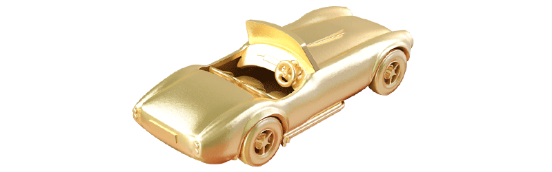 Toy Collectibles Made In 18-22K Gold