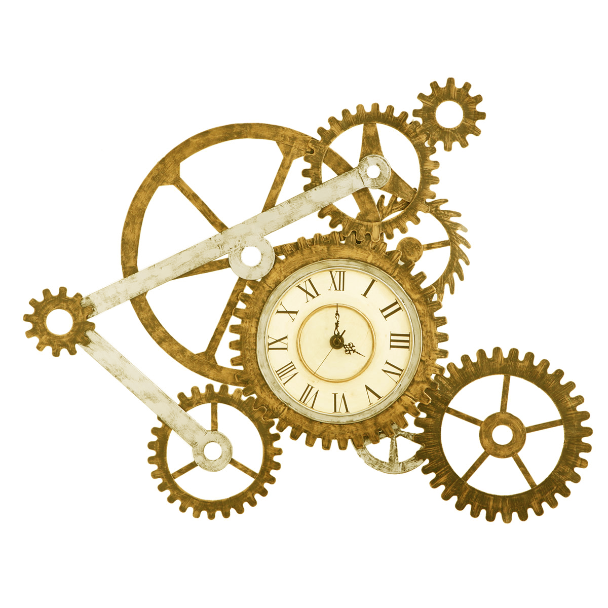 MECHANICAL CLOCK SHOWPIECE