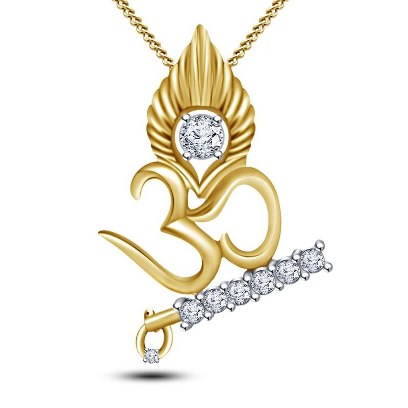 Krishna om pendant diamond 001 800x800g lord krishna om diamond pendant mozeypictures Image collections