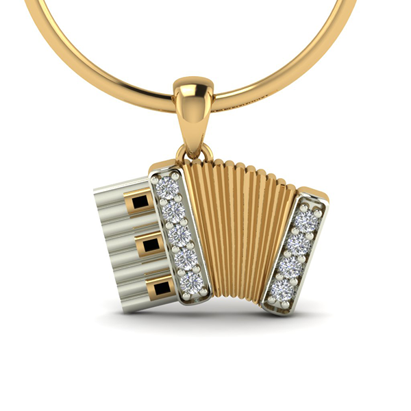 Accordion Pendant